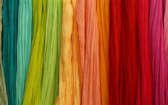 Papéis de Parede Cores coloridas, arco íris, pano