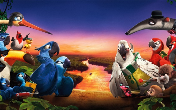 Wallpaper Rio 2 HD