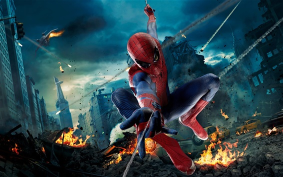 Fondos de pantalla Los Vengadores, Spider-man