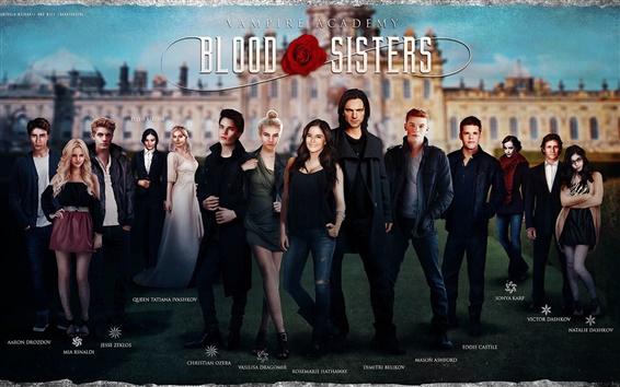 Wallpaper Vampire Academy: Blood Sisters