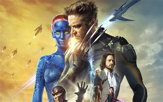 Wallpaper X-Men: Days of Future Past HD