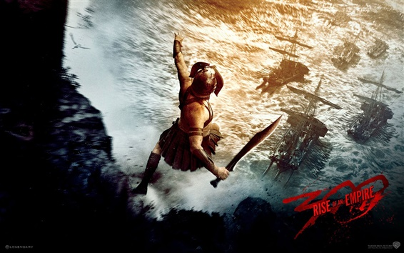 Wallpaper 300: Rise of an Empire 2014 movie