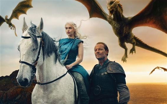 Fond d'écran Game of Thrones, Emilia Clarke