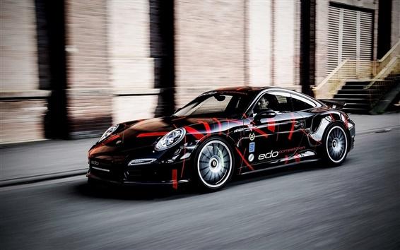 Wallpaper 2014 Porsche 991 Turbo S supercar