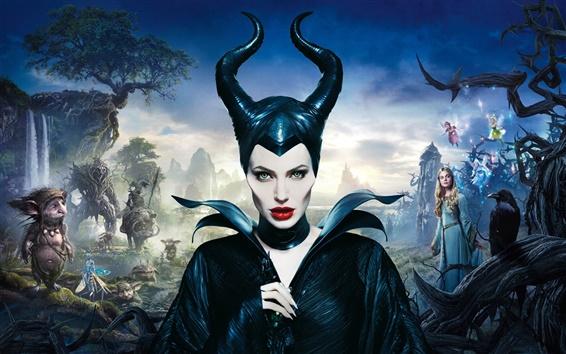 Wallpaper Angelina Jolie, Maleficent