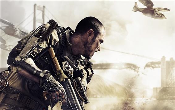 Wallpaper Call of Duty: Advanced Warfare 2014