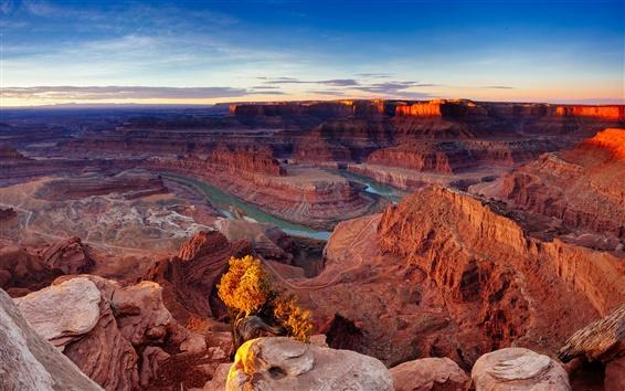 Fond d'écran Parc national de Canyonlands, Utah, États-Unis