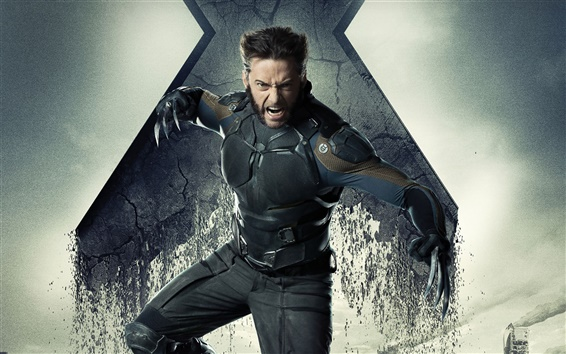 Fondos de pantalla Hugh Jackman, X-Men: Días del Futuro Pasado