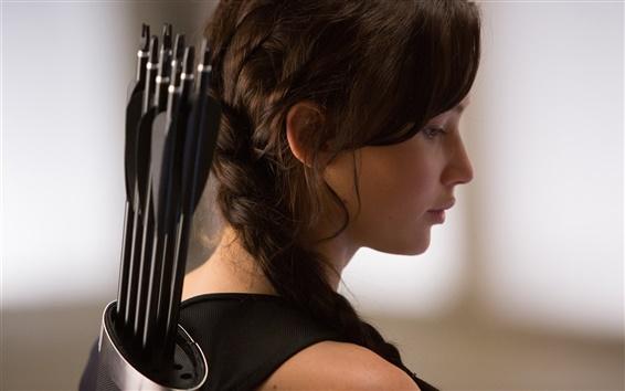 Fondos de pantalla Jennifer Lawrence, The Hunger Games: Catching Fire, 2013 película