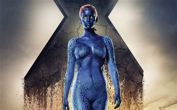 Papéis de Parede Jennifer Lawrence, X-Men: Days of Future Past