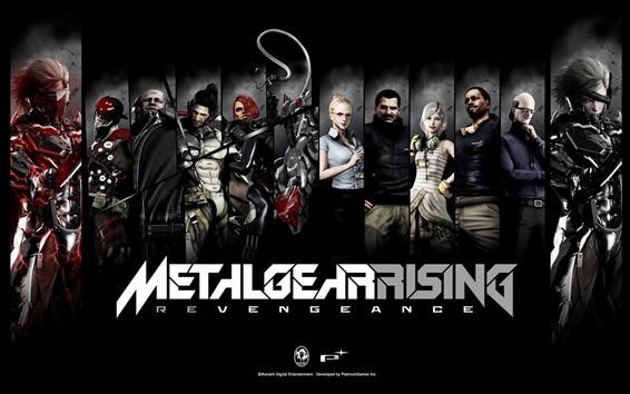 Fondos de pantalla Metal Gear Rising Revengeance, juego para PC HD