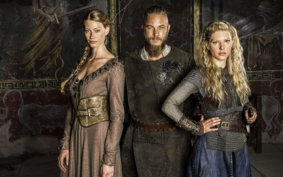 Fondos de pantalla Vikingos serie de televisión