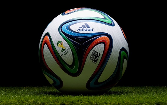 Wallpaper Adidas football, Brazil 2014 World Cup