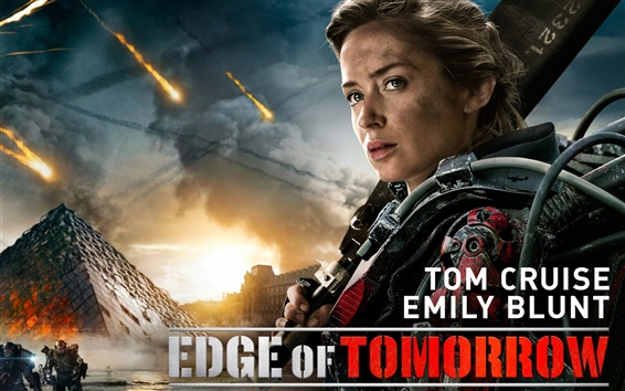 Fondos de pantalla Emily Blunt en Edge of Tomorrow