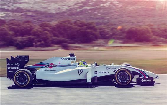 Обои Формула-1, F1, спортивные машины, высокая скорость