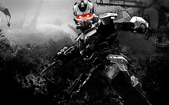 Обои Killzone 3, киборг