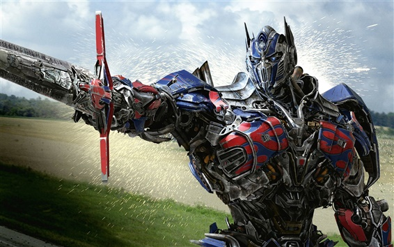 Wallpaper Optimus Prime Transformers 4
