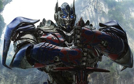 Fondos de pantalla Transformers: La edad de la extinción, Optimus Prime HD