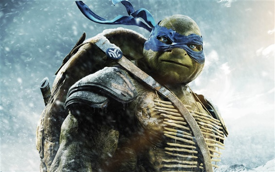 Fondos de pantalla 2014 Teenage Mutant Ninja Turtles, Leo