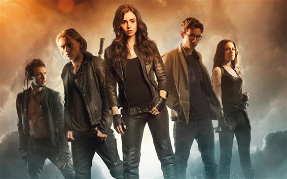Wallpaper 2013 movie, The Mortal Instruments City of Bones