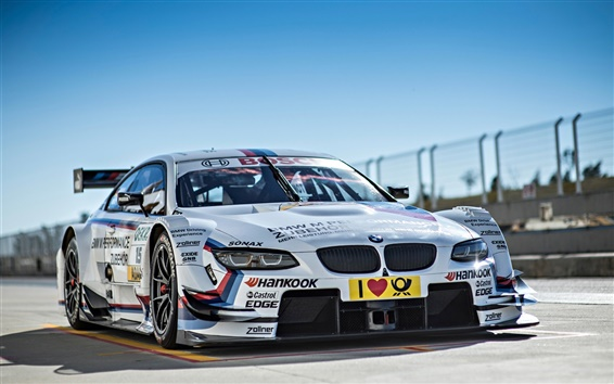 Wallpaper BMW M3 race car