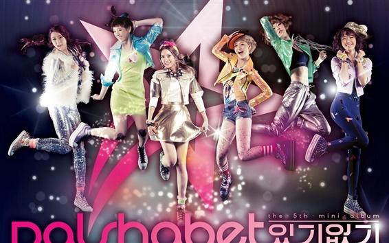Wallpaper Dal Shabet korea music girls 05