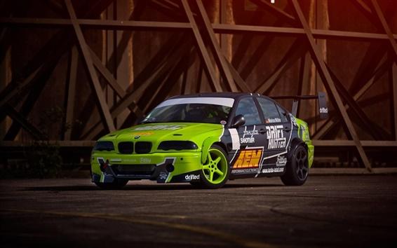 Обои BMW E46 M3 автомобиль дрейф