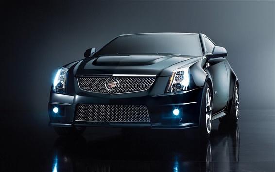 Wallpaper Cadillac CTS-V car front view
