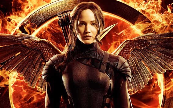 Papéis de Parede Jennifer Lawrence, The Hunger Games: Mockingjay Parte 1