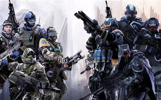 Fondos de pantalla Killzone: Fall Shadow, soldados