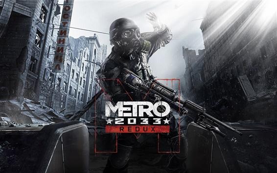 Wallpaper Metro 2033 Redux