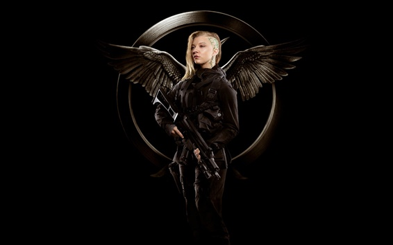 Wallpaper Natalie Dormer, The Hunger Games: Mockingjay, Part 1