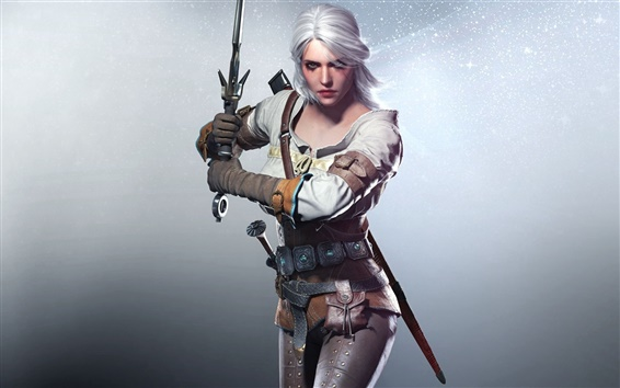 Fondos de pantalla The Witcher 3: Wild Hunt, beautiful girl