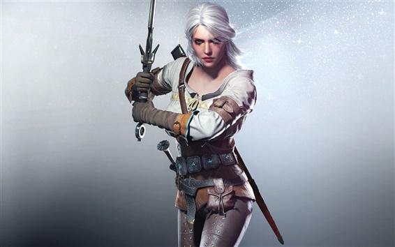 Обои Ведьмак 3: Дикая охота, красивая девушка