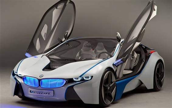 Обои BMW концепт-кар, открытые крылья