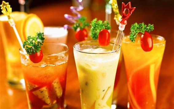 Fond d'écran Cocktails, verres tasses, boissons