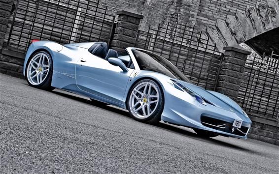 Wallpaper Ferrari 458 Spider car