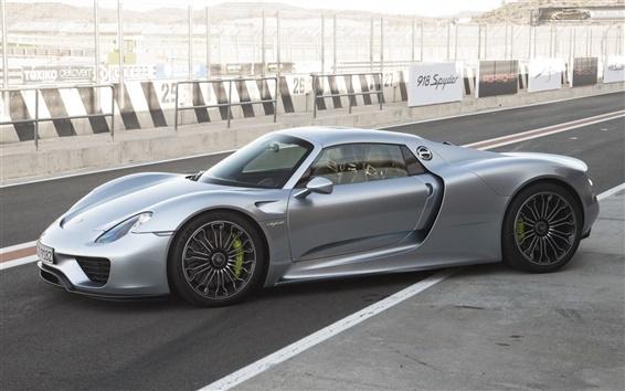 Wallpaper Porsche 918 Spyder Concept supercar