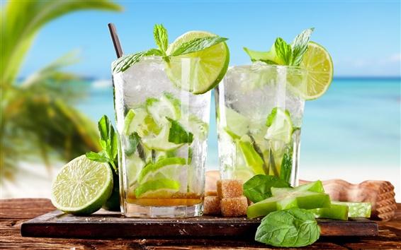 Fond d'écran Été, boisson, cocktail