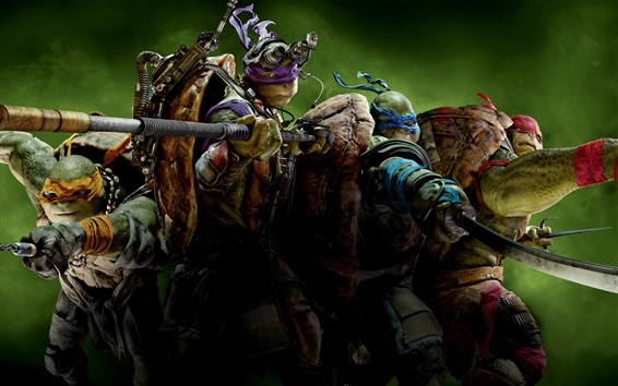 Обои 2014 Teenage Mutant Ninja Turtles HD