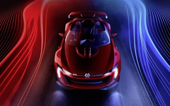 Fond d'écran 2014 Volkswagen GTI Roadster Concept supercar