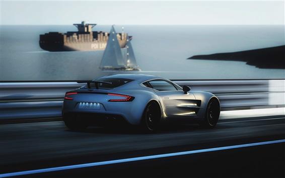 Papéis de Parede Aston Martin One-77 velocidade supercar
