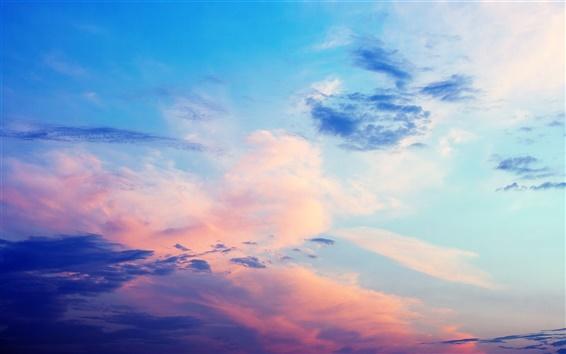 Обои Красивое небо, облака, закат