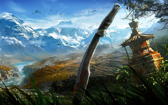 Wallpaper Far Cry 4 HD
