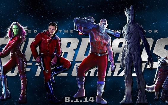 Wallpaper Guardians of the Galaxy 2014