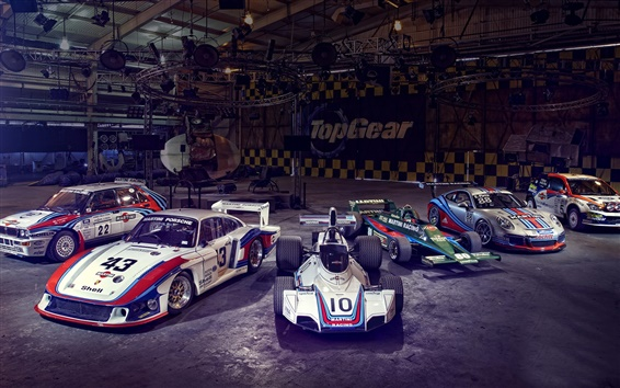 Wallpaper Many race cars, supercar