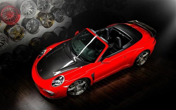 Wallpaper Porsche 991 Carrera Stinger Cabriolet car