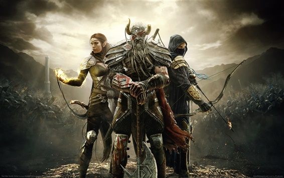 Wallpaper The Elder Scrolls Online HD