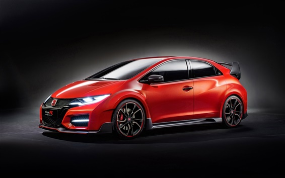 Papéis de Parede 2014 Honda Civic Type R Concept car