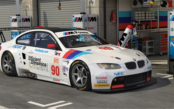 Papéis de Parede BMW M3 GT2 supercar